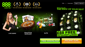 888 Casino Paypal Transactions Award Winning Games